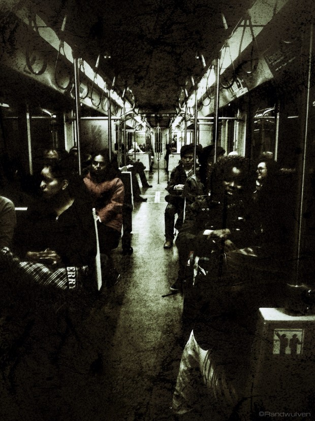 Dark Rail Transit - Randy Brososky