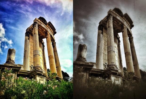 Roman Columns - Randy Brososky