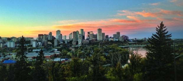 Edmonton Skyline - Randy Brososky
