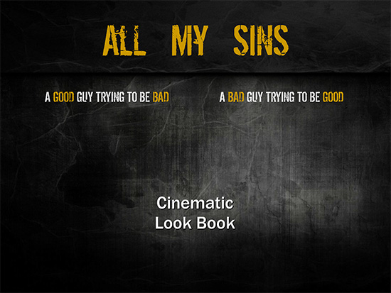 All My Sins - Cinematic Look Book